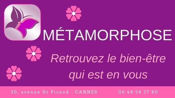 Métamorphose Cannes, massage, soins vibratoire, magnétisme, Fleurs de Bach